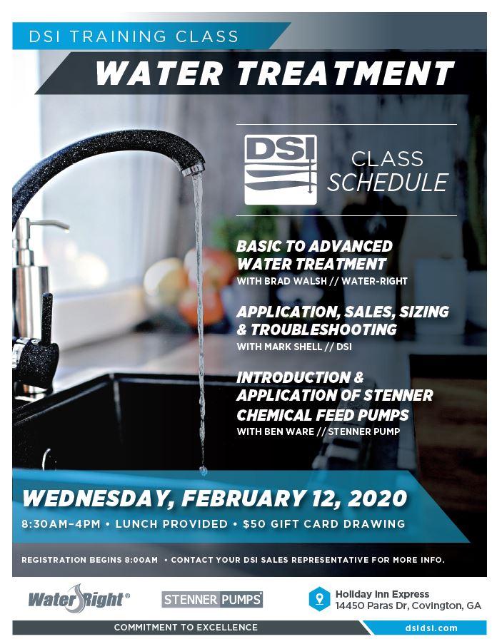 Water Training 021220
