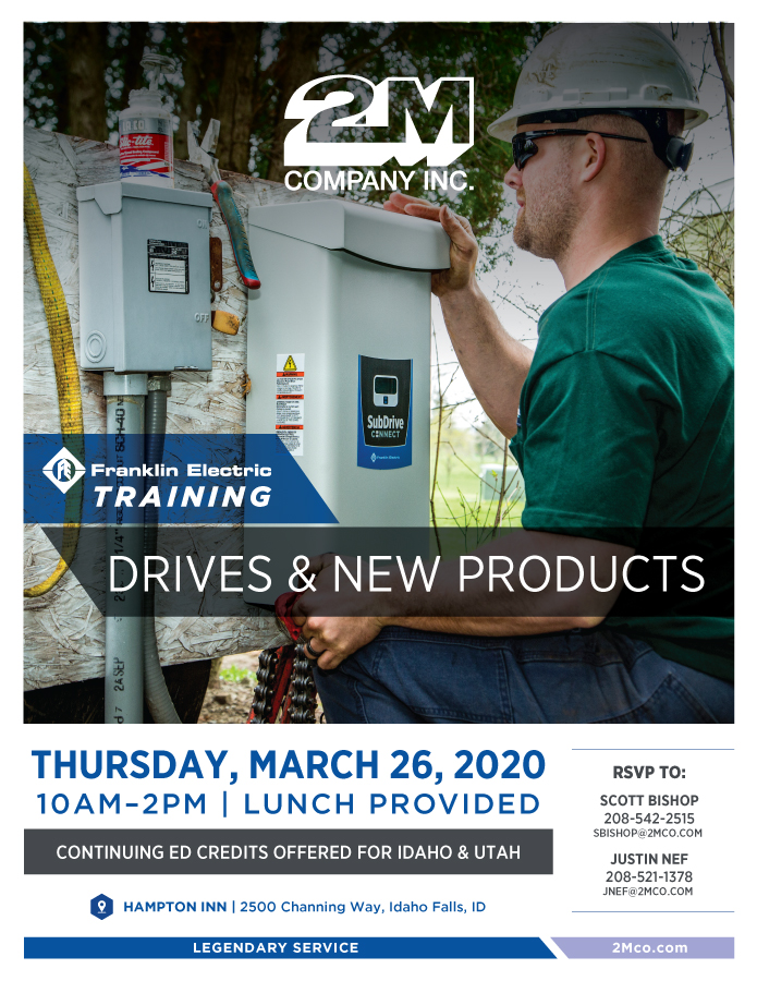 2M Franklin Training Drive Product Jan2020